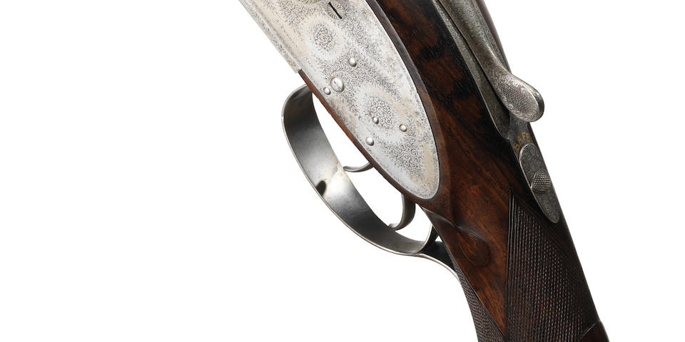 A rare 8-bore (3¼in) sidelock non-ejector wild-fowling gun by J. Purdey & Sons, no. 11819