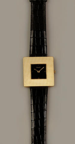 Piaget: A lady's wristwatch