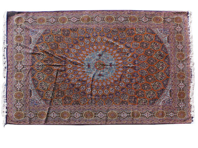 An Isfahan carpet Central Persia, 400cm x 303cm