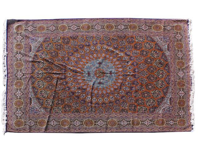 An Isfahan carpet Central Persia, 400cm x 303cm