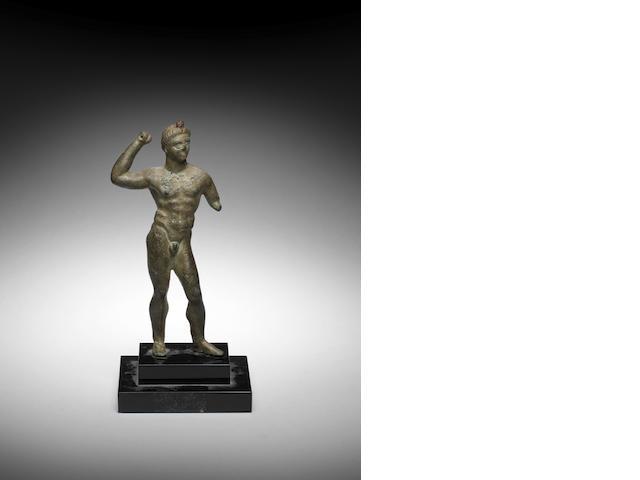 An Etruscan bronze Hercules
