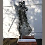 An early Clement motorcycle engine,