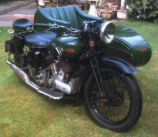 1936 BSA G14 Combination
