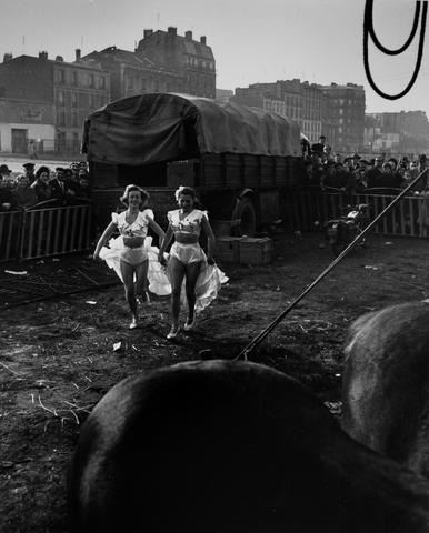 Willy Ronis (French, 1910-2009) Circus Achille Zavatta, 1949