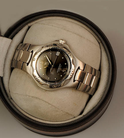 Tag Heuer: A gentleman's Professional stainless steel wristwatch