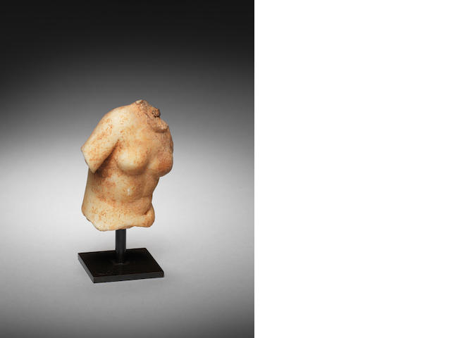 A Greek marble torso of Aphrodite