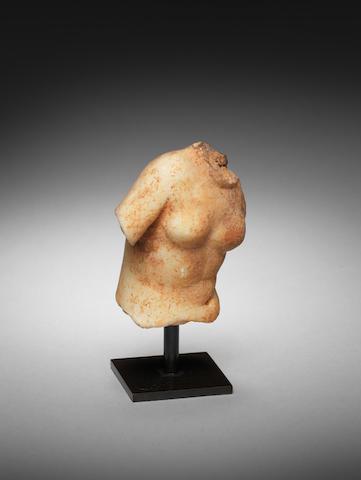 A Greek marble torso of Aphrodite