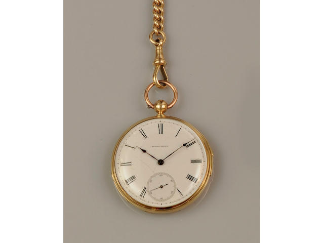 An 18ct gold open face quarter repeater pocket watch