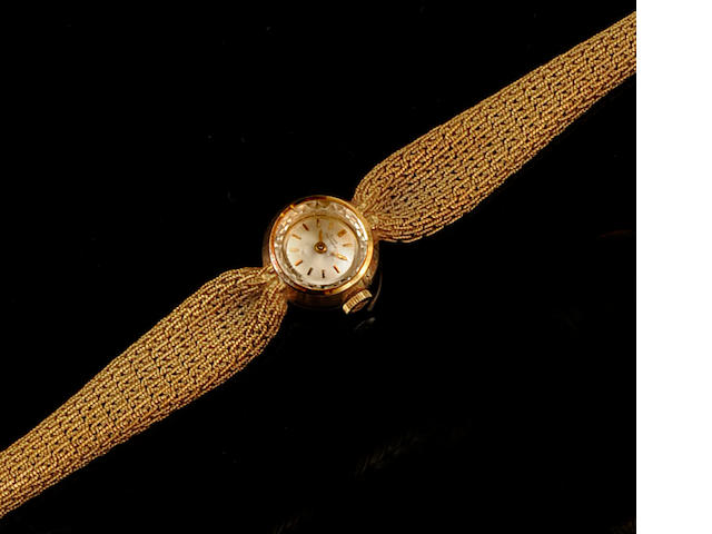 Girard Perregaux: A lady's 18ct gold wristwatch