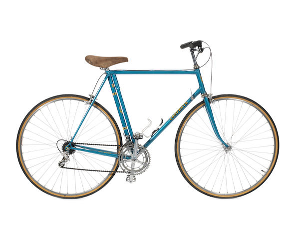 A 'Pro Strade' lightweight touring bicycle by Mario Confente, American,