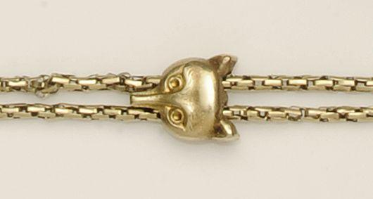 A Victorian guard chain