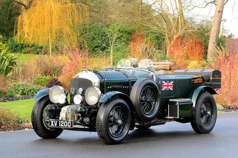 Bonhams : 1928 Bentley 4½-Litre Supercharged Tourer Chassis no