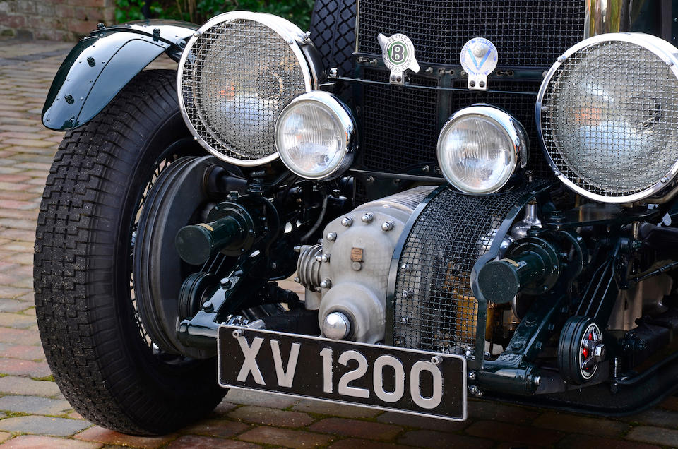 1928 Bentley 4½-Litre Supercharged Tourer  Chassis no. NT3131 Engine no. NT3131S