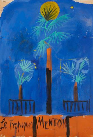 Graham Sutherland O.M. (British, 1903-1980) Le Tropiques Menton