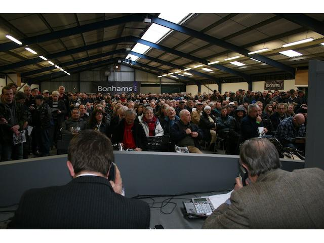 Bonhams auction of Vintage and Classic Motorcycles at The Bristol Classic Motorcycle Show on 18th Fe