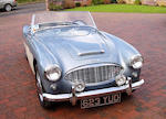 Left-hand drive,1958 Austin-Healey 100/6 BN6 Roadster  Chassis no. BN6-L/3516 Engine no. 26D-U-H/70390