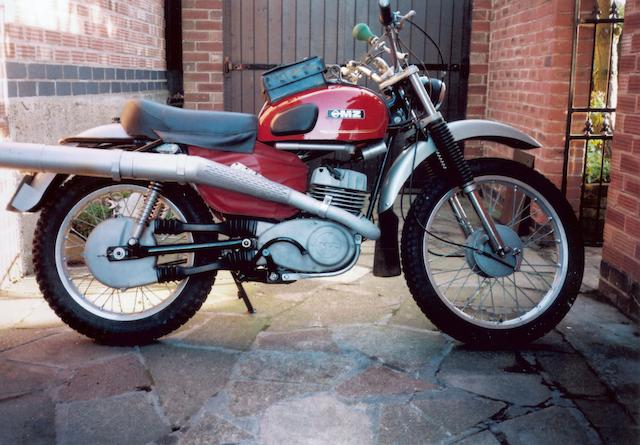 1975 MZ 250cc ISDT Replica Frame no. 52966 Engine no. 53518