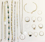 A collection of jewellery items, (qty)