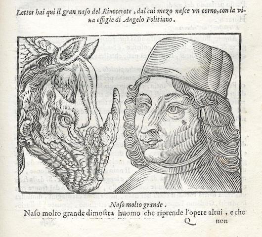 PORTA (GIOVANI BATTISTA DELLA) Della fisonomia dell'huomo, 1613