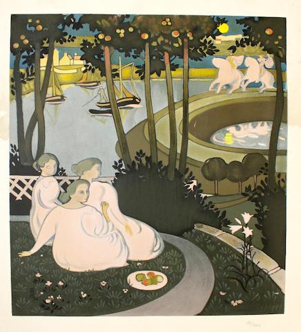 Maurice Denis (French, 1870-1943) Trois Femmes