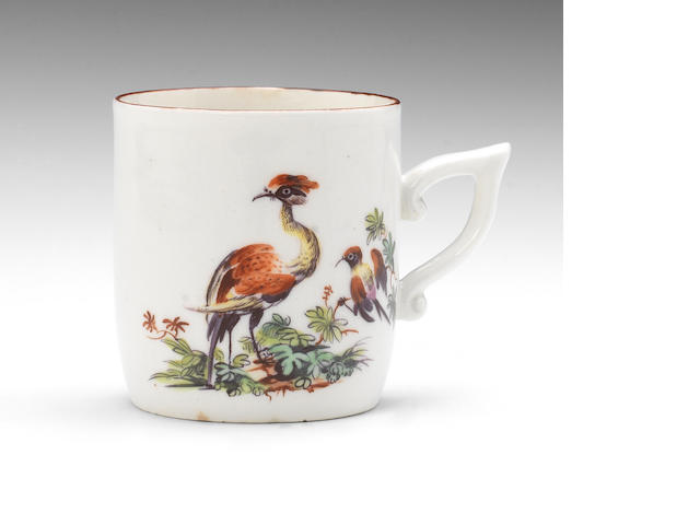 A Derby coffee cup, circa 1758-60