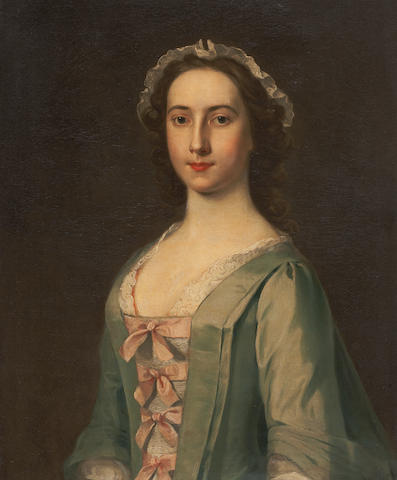 William de Nune (1729-1750) Jenny Fall, Lady Anstruther 76.5 x 63.5 cm. (30 1/8 x 25 in.)