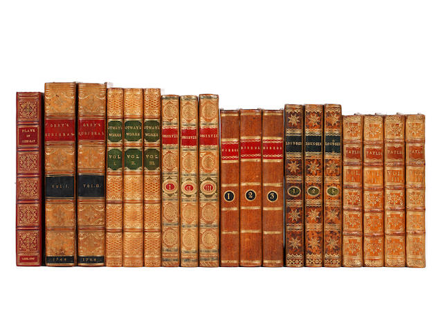 BINDINGS GAY (JOHN) Plays, HOE COPY, 1760; and 18 others