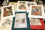 Tsukioka Yoshitoshi (1839-1892), Utagawa Yoshitora (fl. circa 1850-1880), Utagawa Kunisada (1786-1864), Shunkosai Hokushu (fl. circa 1808-1832),  Gigado Ashiyuki (fl. circa 1813-1833) and others Late 18th/19th century