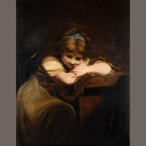 After Sir Joshua Reynolds, PRA Portrait of a girl
