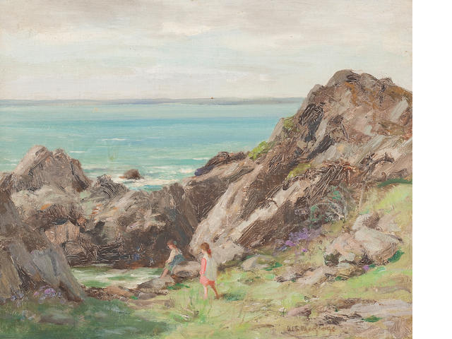 William Stewart MacGeorge, RSA (British, 1861-1931) 32 x 40 cm. (12 5/8 x 15 3/4 in.)