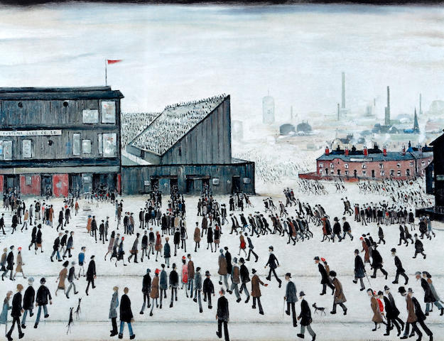 Laurence Stephen Lowry R.A. (British, 1887-1976) 'Going to the Match'