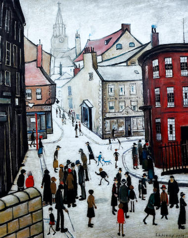 Laurence Stephen Lowry R.A. (British, 1887-1976) 'Berwick-Upon-Tweed'