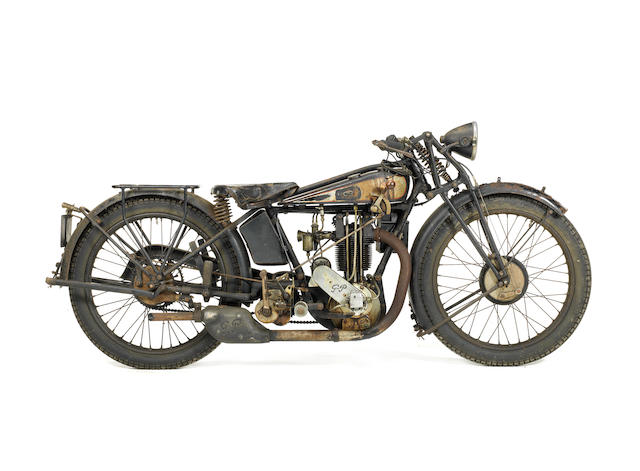 1926/27 Grindlay-Peerless 350cc Frame no. 1143 Engine no. IO/I/81050