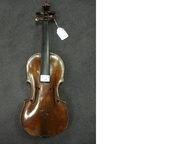 A Violin of the Duke School circa 1790 (1)