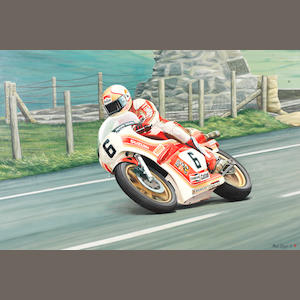 Rod Organ (1947-2007), 'Mike Hailwood - Memorial',