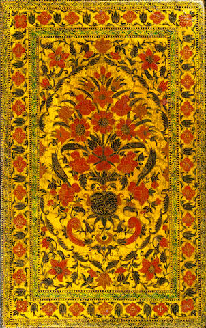 An illuminated Qur'an in a floral lacquer binding North India, Kashmir, late 18th/early 19th Century