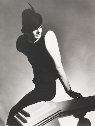 Horst P. Horst (German/American, 1906-1999) White Sleeve, Paris, 1936