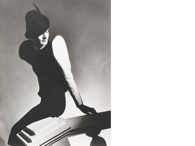 Horst P. Horst (German/American, 1906-1999) White Sleeve, Paris, 1936 Paper 61 x 50.5cm (24 x 19 7/8in), image 55.9 x 42.4cm (22 x 16 11/16in).