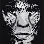 Albert Watson (Scottish, born 1942) Mick Jagger, 1992 Paper 60.2 x 50.3cm (23 11/16 x 19 13/16in), image 32.2 x 26.5cm (12 11/16 x 10 7/16).