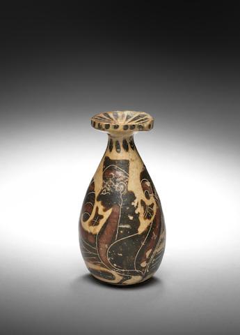 A Corinthian terracotta alabastron