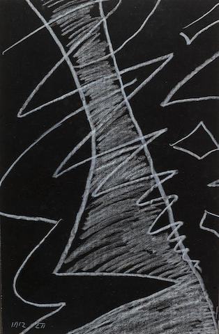 Man Ray (American, 1890-1976) Etude d'estampe, l'homme sur la lune