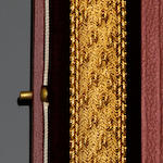 An 18ct gold fancy-link bracelet