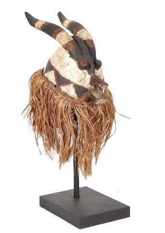 A Mossi/Bwa headdress mask Burkina Faso:  34cm long