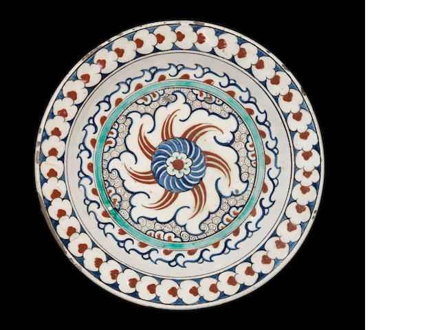 An Iznik polychrome pottery Bowl Turkey, circa 1590