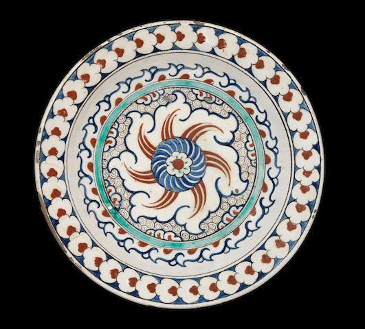 An Iznik polychrome pottery Bowl Turkey, circa 1590