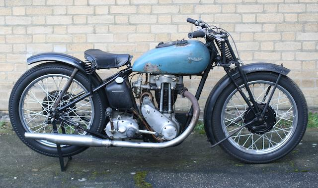 1938 Triumph 249cc Tiger 70 Project Frame no. TL6589 Engine no. 8-T70-12436