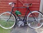 1950 Ducati 48cc Cucciolo & Raleigh Bicycle Frame no. 832509 Engine no. 229164