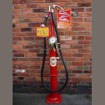 An Avery Hardoll model CH1 hand cranked petrol pump, patented 1928,