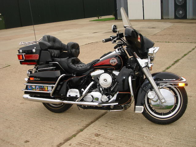 One owner, 14,411 kilometres (8,950 miles) from new 1991 Harley-Davidson 1,340cc Electra Glide Classic Ultra Frame no. 1HD1DPL14MY507219 Engine no. 1HD1DPL14MY507219