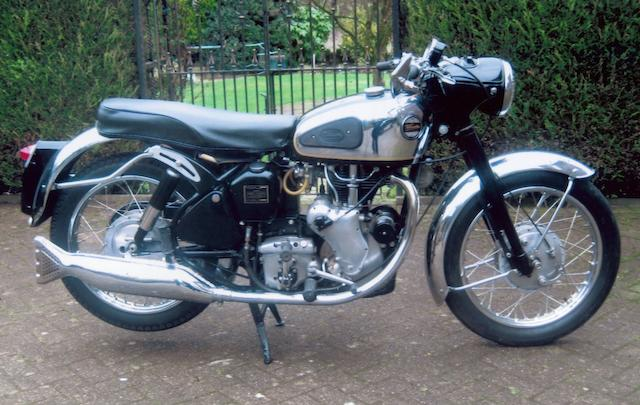 1961 Velocette 350cc Viper Sports Frame no. RS17389 Engine no. VR4052